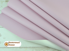 Кожа жемчужная светло-розовая с легким глянцем