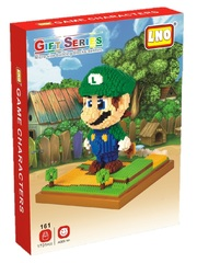 Конструктор LNO Луиджи 1701 деталь NO. 161  Luigi Green Gift Series
