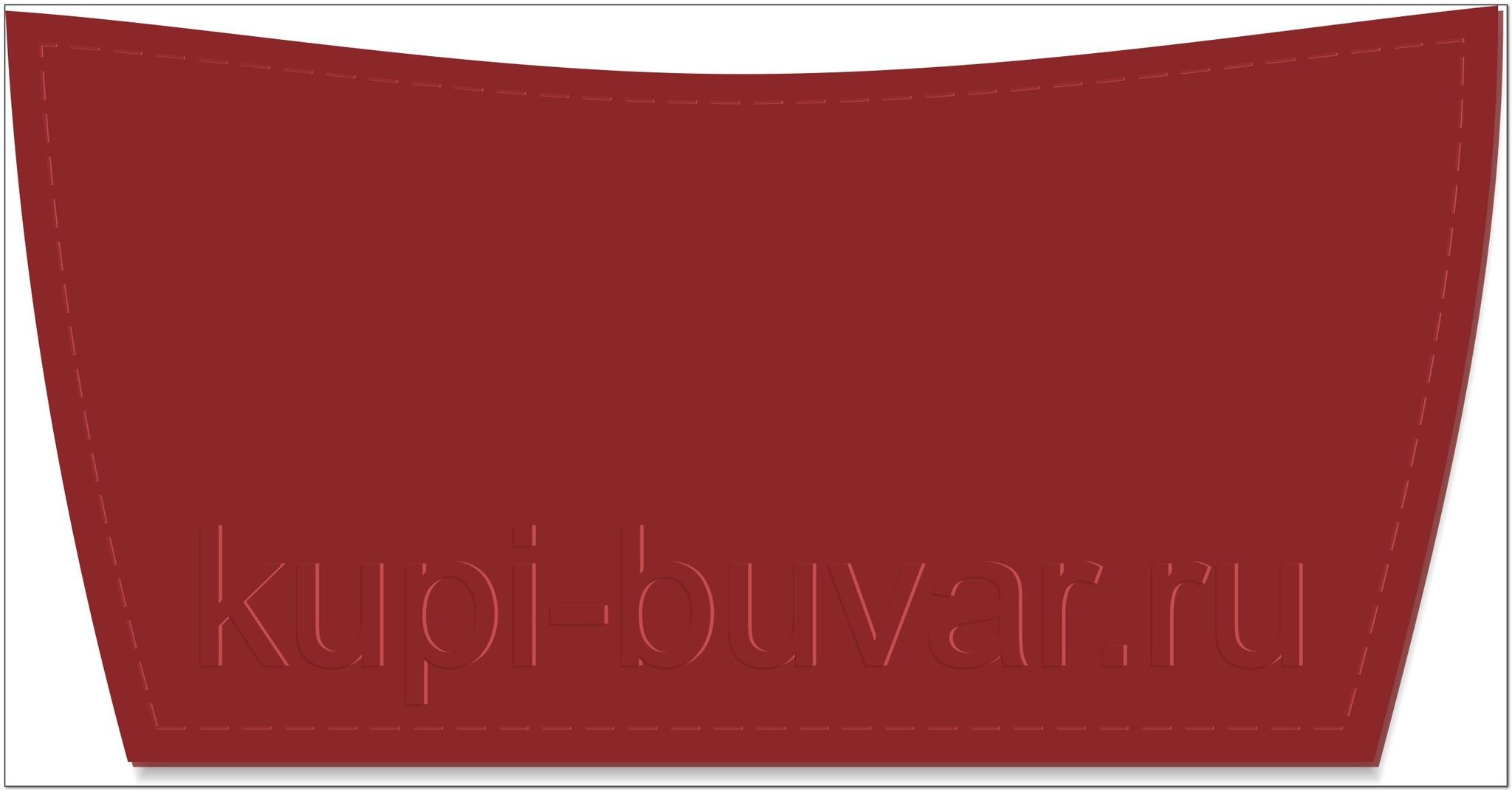 кожаный бювар - подложка на стол Соренто-22