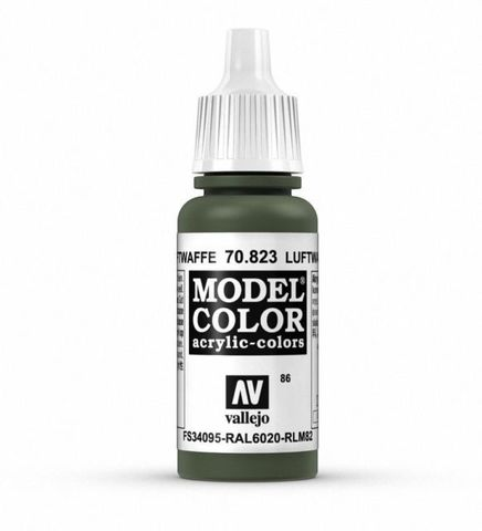 Model Color Luftwaffe Cam.Green 17 ml.