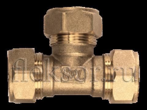 Тройник труба-труба-труба TТ 15-15-15 - Hydrosta Flexy
