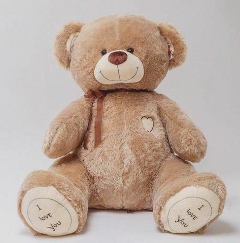 Плюшевый медведь Бежевый 180 см