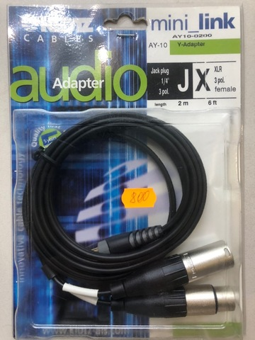 KLOTZ AY10-0200 - Инсертный кабель RCU201-Z