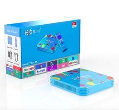 Смарт ТВ приставка H96 mini 6K Ultra HD TV BOX 4/128 Гб Андроид 9.0