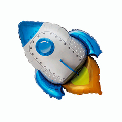 F Фигура, Ракета синяя,  30″/76 см, 1 шт.