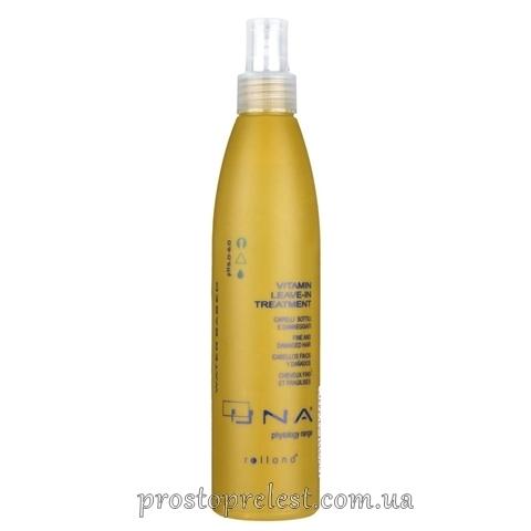 Rolland Una Vitamin Leave-In Treatment - Кондиционер для сухих и тонких волос