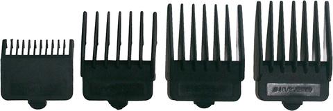 Машинка для стрижки Dewal Magnit, сетевая, 13 Вт, 4 насадки, черная