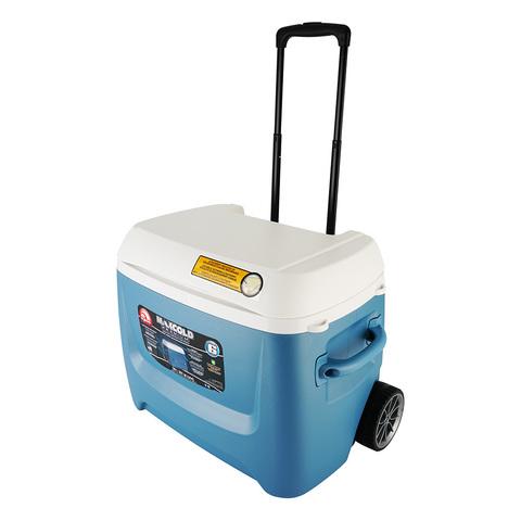 Изотермический контейнер (термобокс) Igloo Maxcold 62 Roller (58 л.), синий