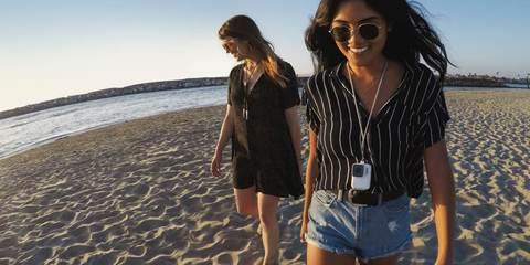 GoPro Sleeve + Lanyard - Силиконовый чехол с ремешком (Белый)