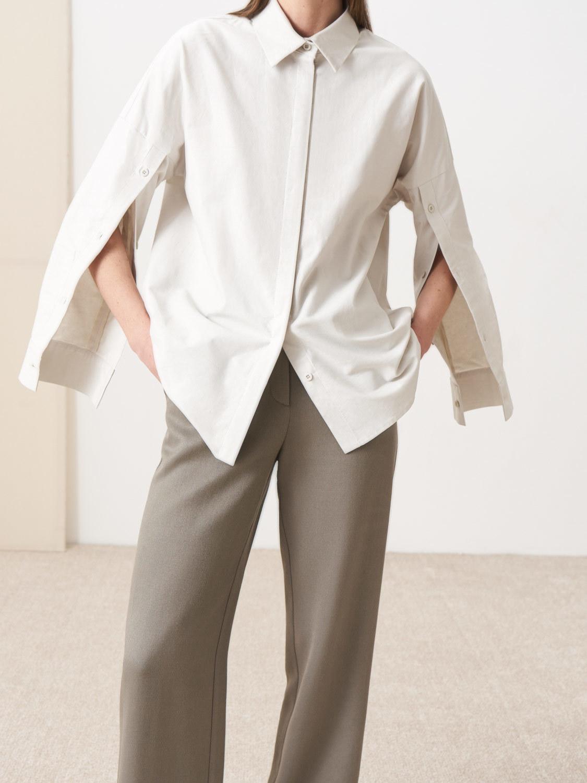 Рубашка Mika с планками на рукавах