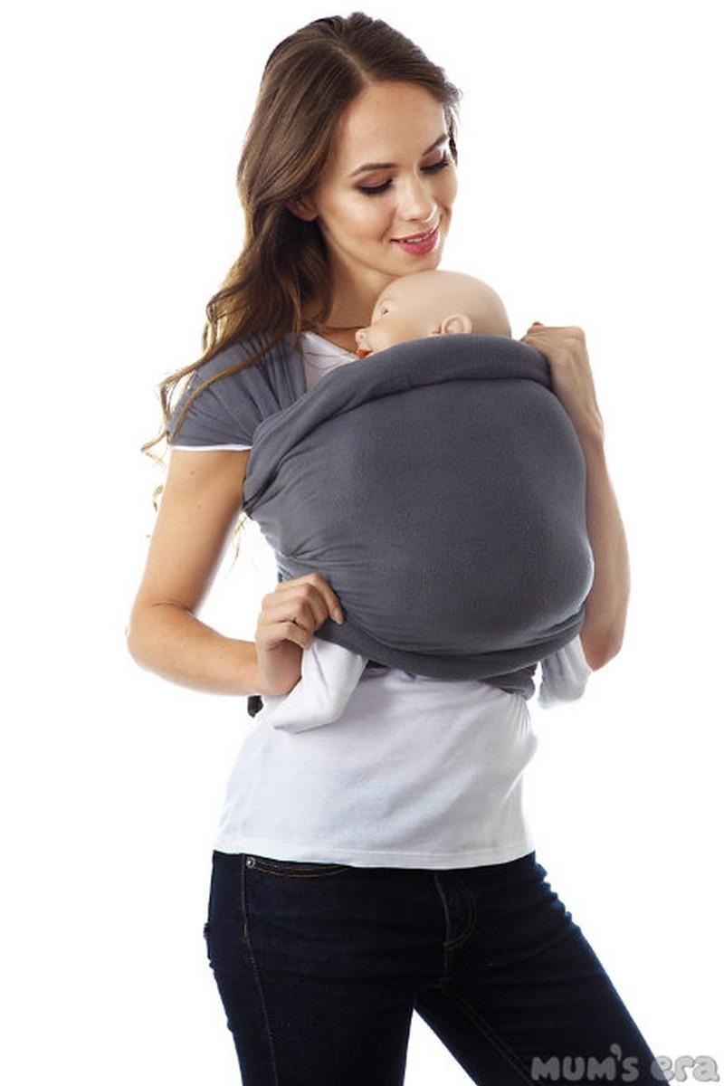 Слинг-шарф 08848 серый