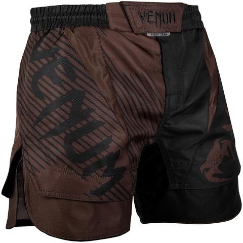 Шорты Venum NoGi 2.0 Fightshorts Black/Brown