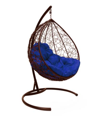 Кресло подвесное Lagos brown/blue