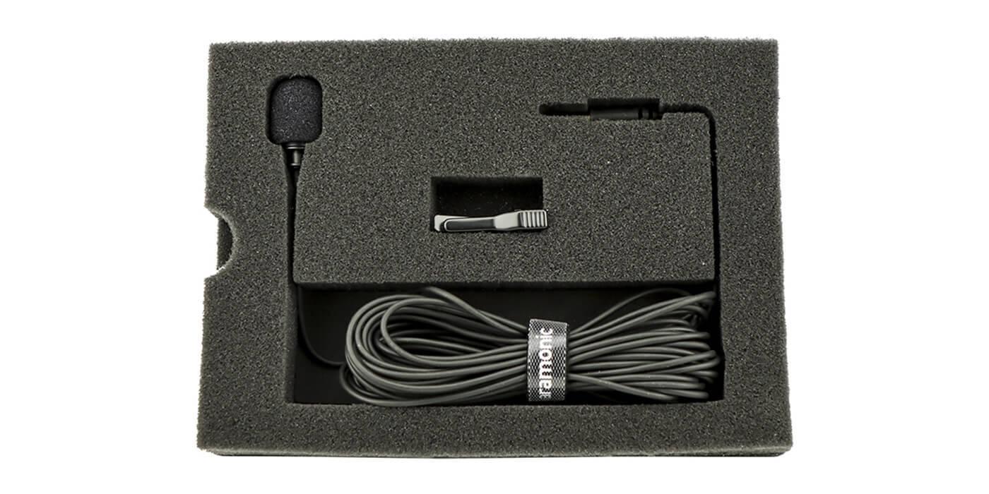 Петличный стереомикрофон Saramonic SR-XMS2 с кабелем 6м