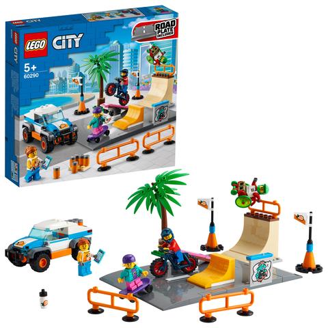 Конструктор LEGO City 60290 Скейт-парк