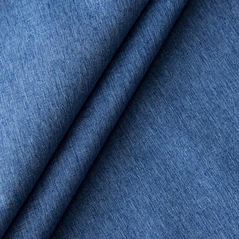 Ткань блэкаут Калипсо синий