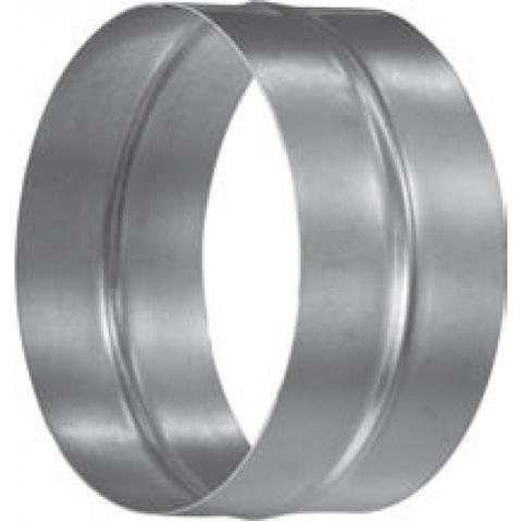 Муфта-ниппель D 120 оцинкованная сталь