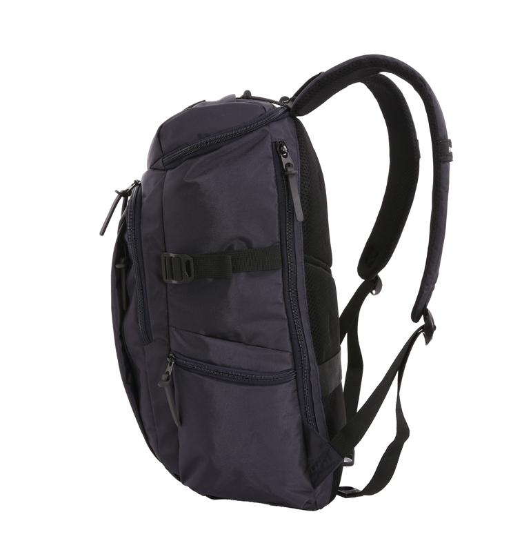 Рюкзак WENGER, цвет синий/чёрный, 20 л., 47х29х15 см., отделение для ноутбука 15