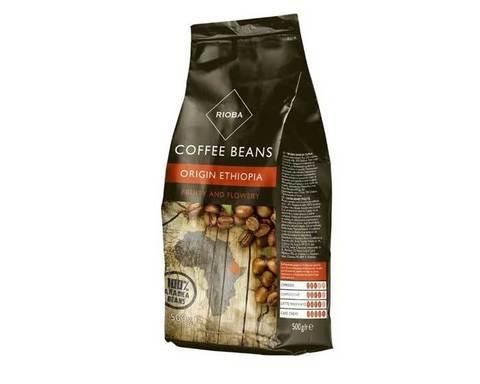 Кофе в зернах Rioba Origin Ethiopia, 500 г