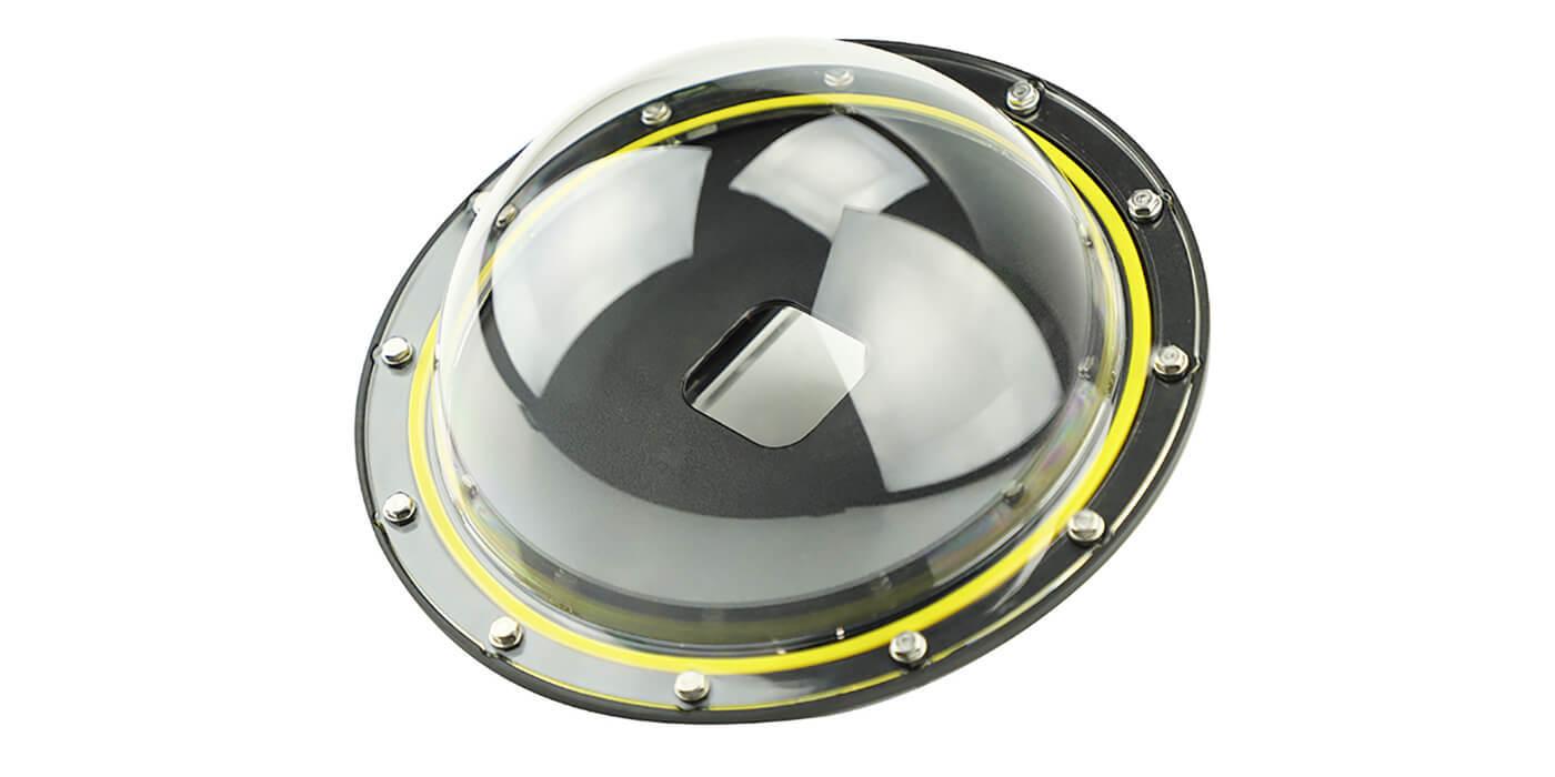 Полусфера (купол) для съемки в воде Dome Port Telesin