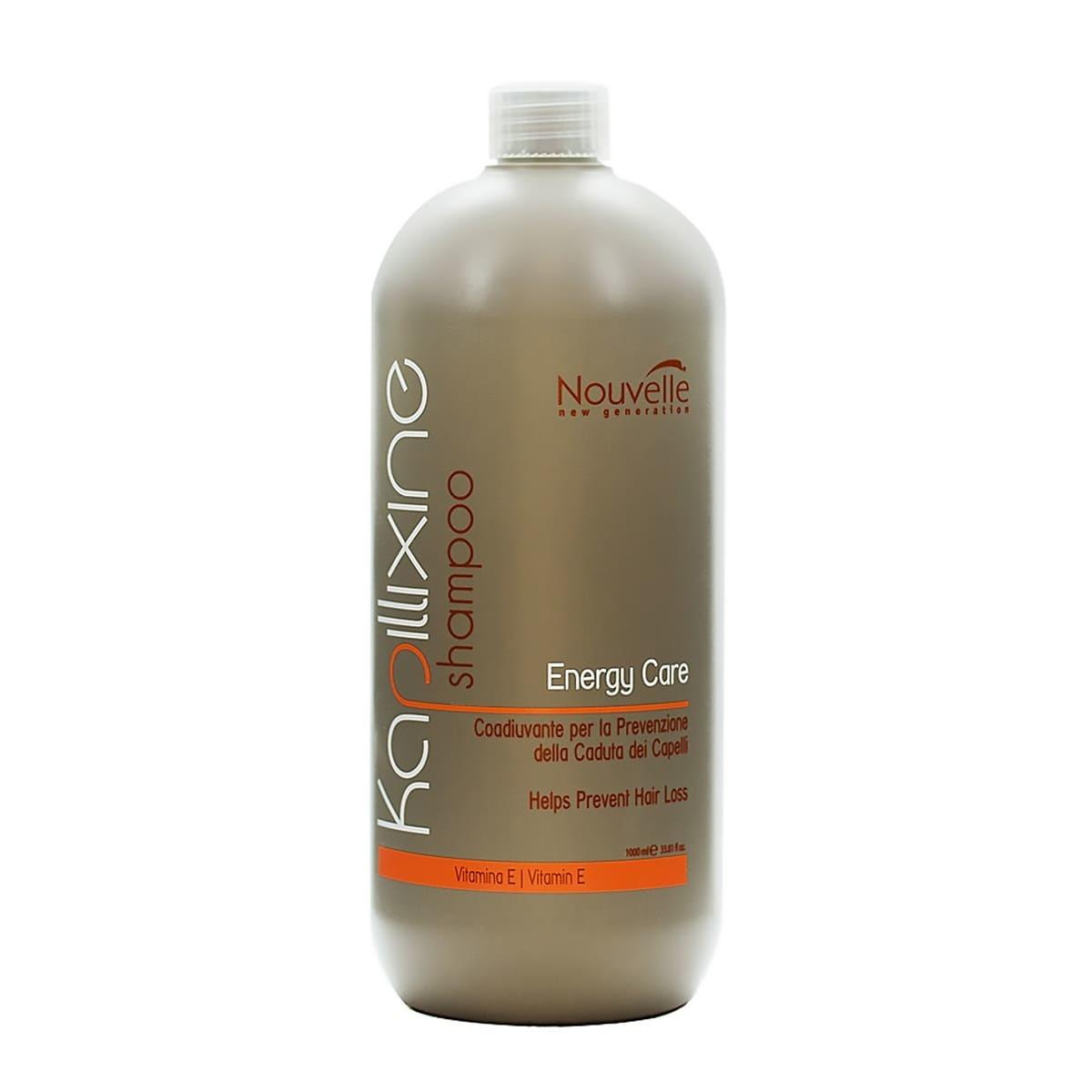 Шампунь против выпадения волос с витамином Е
