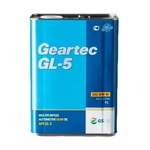L298344TE1 Kixx GEARTEC GL-5 80W-90 трансмиссионное масло МКПП (4 Литра) купить на сайте официального дилера ht-oil.ru