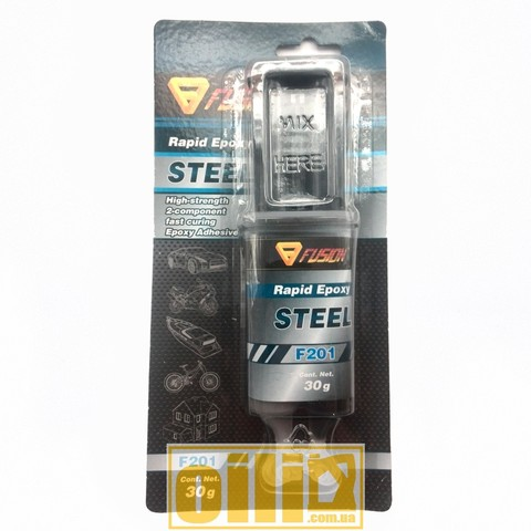 Fusion F201 RAPID EPOXY STEEL 30г