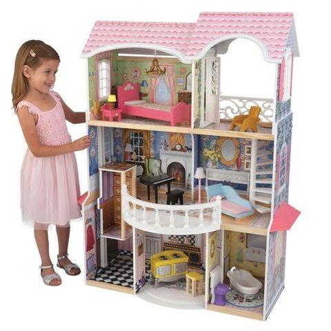 """Винтажный кукольный дом для Барби """"Магнолия"""" (Magnolia) с мебелью 13 предметов"""