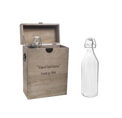 Подарочный ящик с бутылками