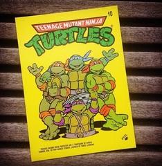 Teenage Mutant Ninja Turtles Collector Cards Pack || Коллекционные карточки Черепашки-Ниндзя 1989 года