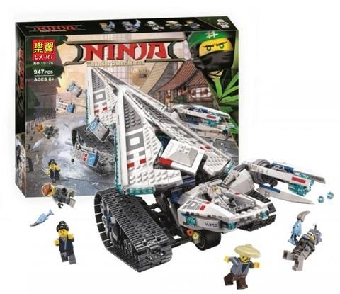 Конструктор Ninja 10726 Ледяной танк