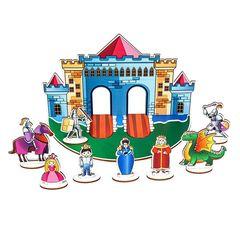 Кукольный театр Рыцарский замок Smile Decor П1008