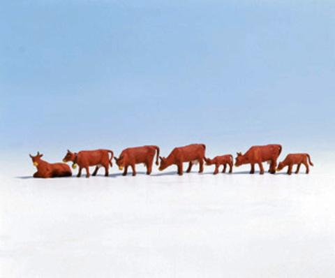 Коровы - 7 фигурок, (H0)
