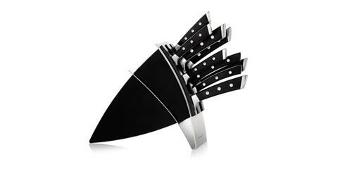 Блок ножей Tescoma AZZA, с 7 ножами и ножницами для разделки птицы