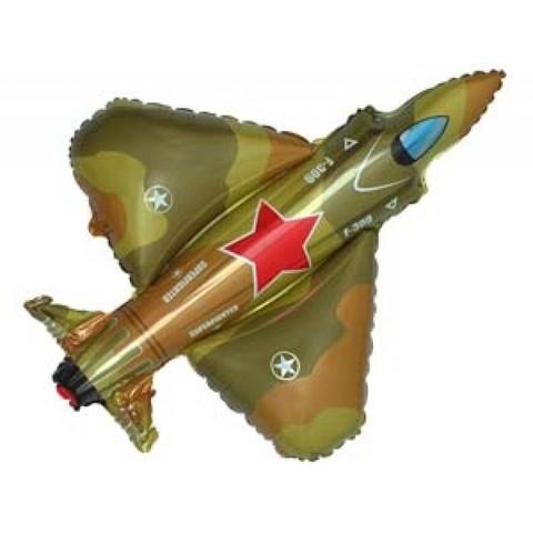 Фольгированный шар Истребитель милитари