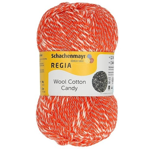 Regia Wool Cotton Candy 2602 пряжа купить