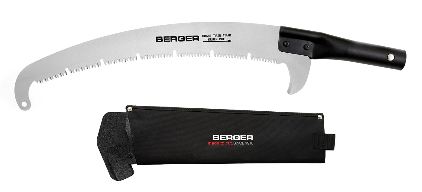 Штанговая пила BERGER 63953 и телескопическая штанга серия ArboRapid