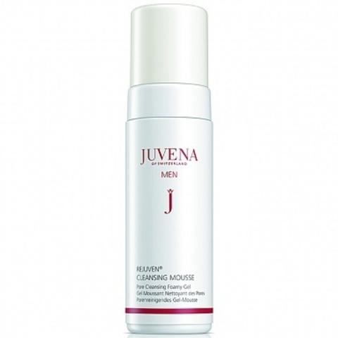 JUVENA Гель-пена для глубокого очищения пор и бритья для мужчин | REJUVEN® MEN CLEANSING MOUSSE Pore Cleansing Foamy Gel