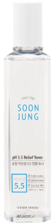 Etude House Soon Jung Toner регенерирующий тонер для лица 180мл