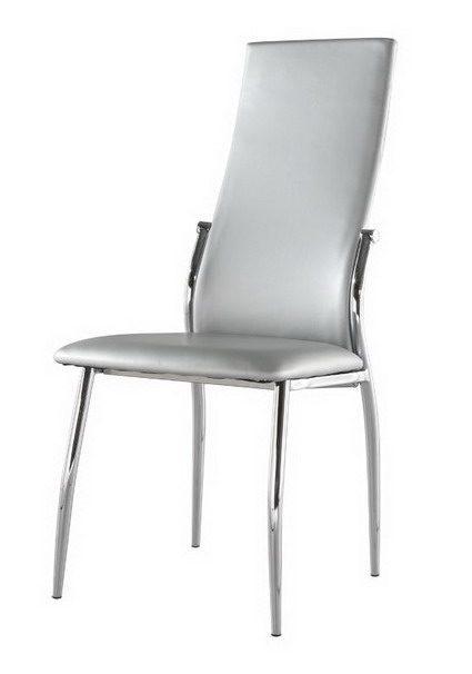 Стул ESF L23 серебряный