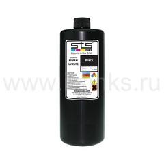 УФ - чернила STS для Mimaki LF-140 Black 1000 мл