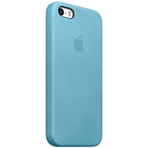 Чехол iPhone SE Leather Case /blue/