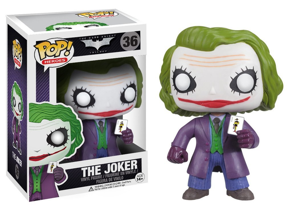 Фигурка Funko POP! Vinyl: DC: Dark Knight Joker 3372