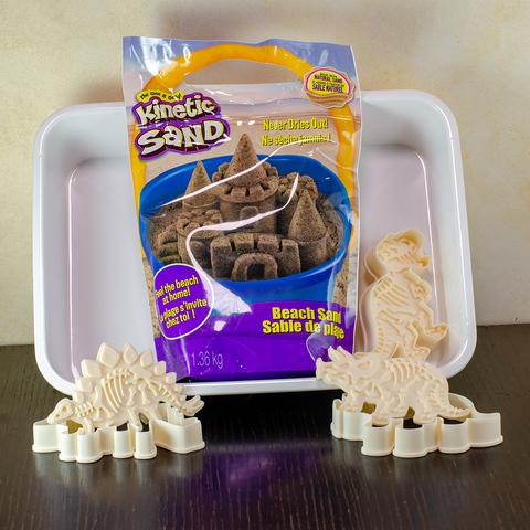 Набір кінетичний пісок 3 Динозаври