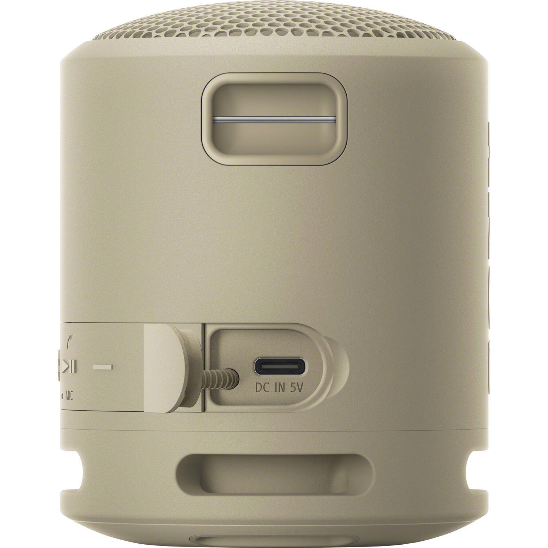 Портативная акустика Sony SRSXB13C бежевого цвета