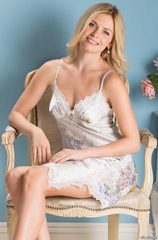 Короткая сорочка Mia-Amore 5990 LILIANNA (70% шелк)