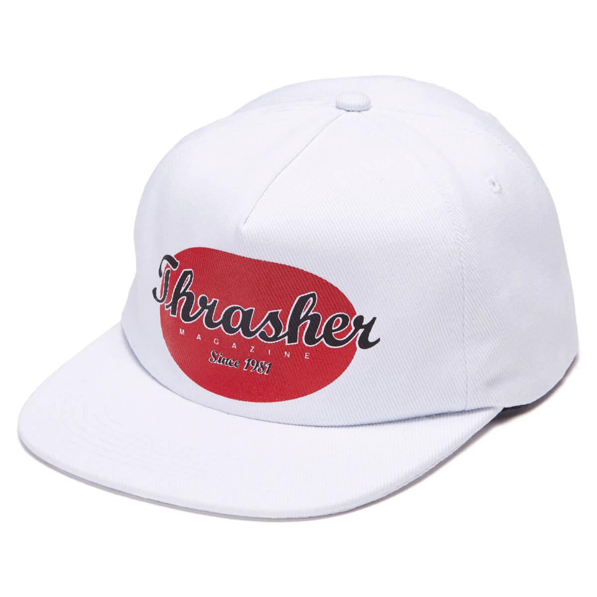 Кепка THRASHER Oval Snapback (White)