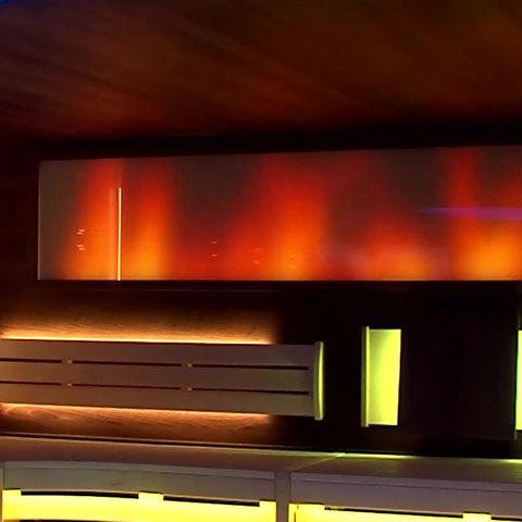 Световое панно Licht-2000 Avani Cтеклянная колонна Avani Vulcano