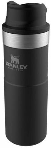 Картинка термостакан Stanley classic 0,47l trigger action 1-hand черный new - 1