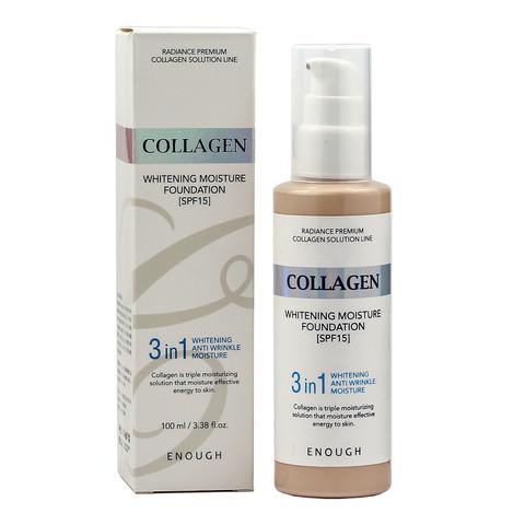 Увлажняющий тональный крем ENOUGH с коллагеном Collagen Moisture Foundation SPF 15, 100 мл, тон 13